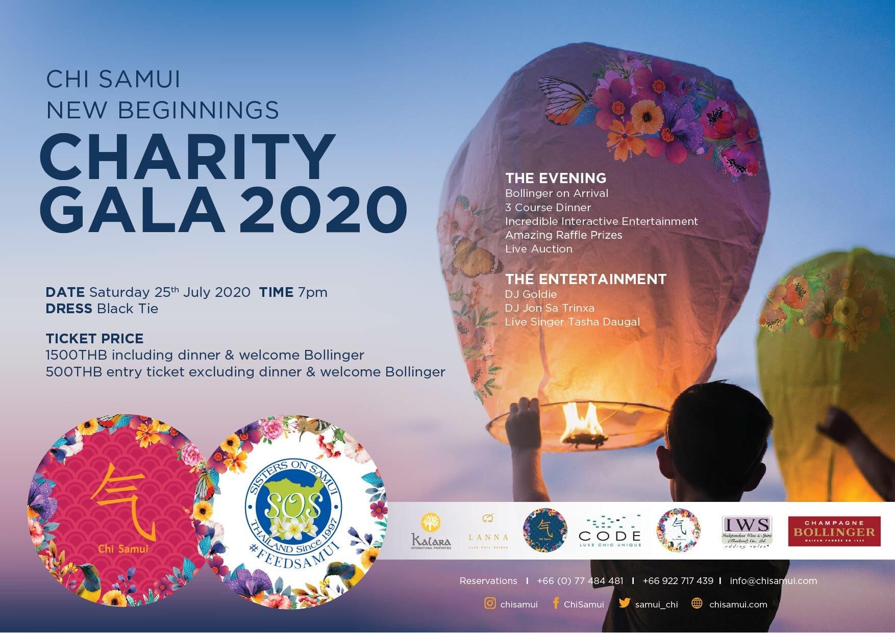 Chi Samui Charity Gala 2020